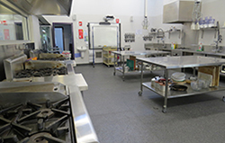 Commercial grade kitchens and hospitality centre